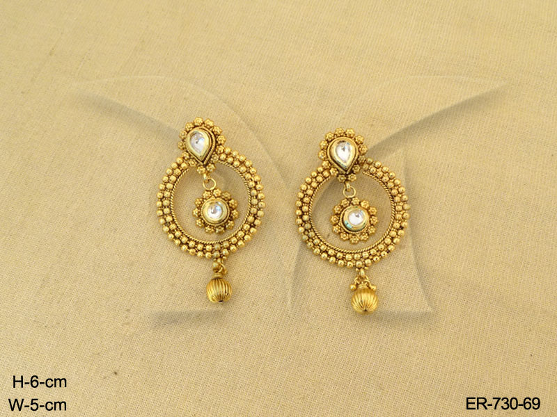 polki-earings-round-gold-design-antique-earrings-142140410848kng ...