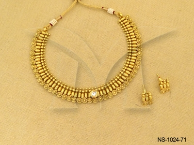 Traditional Antique Gold Necklace Traditional Gold Necklace