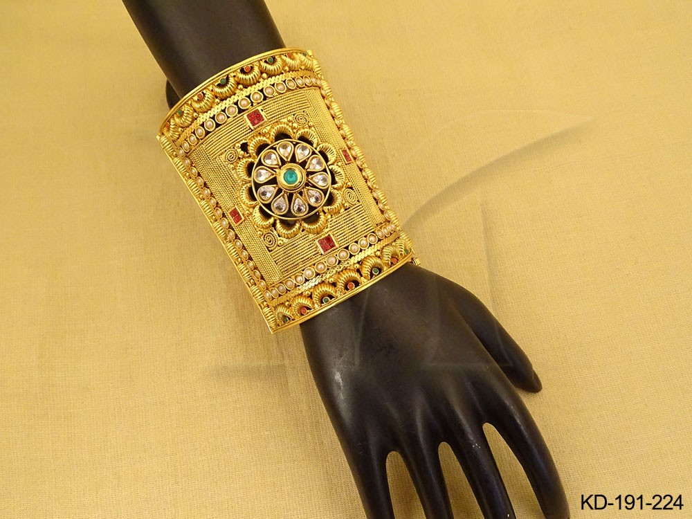 Party Wear Polki jewelry Kada
