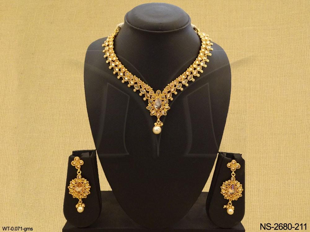 Traditional Polki jewelry
