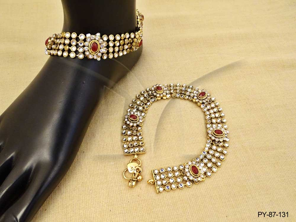 Polki Jewellery Payal