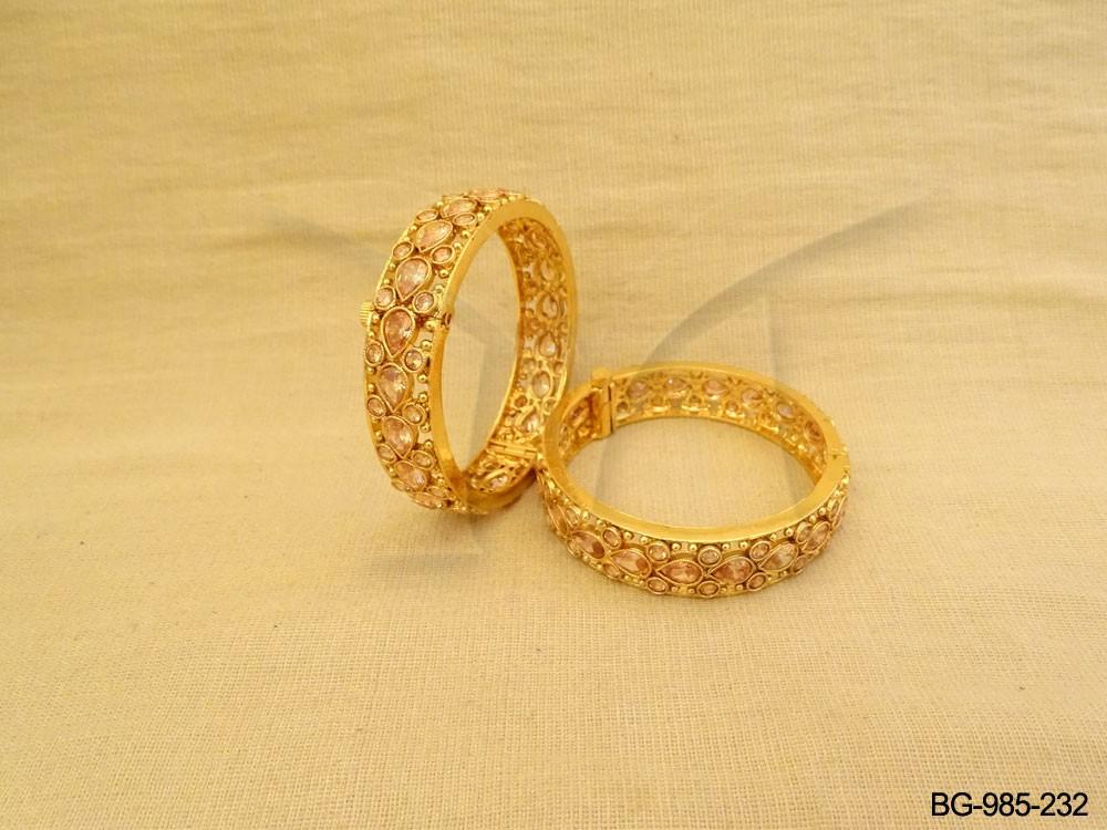 Polki Bangles Jewellery