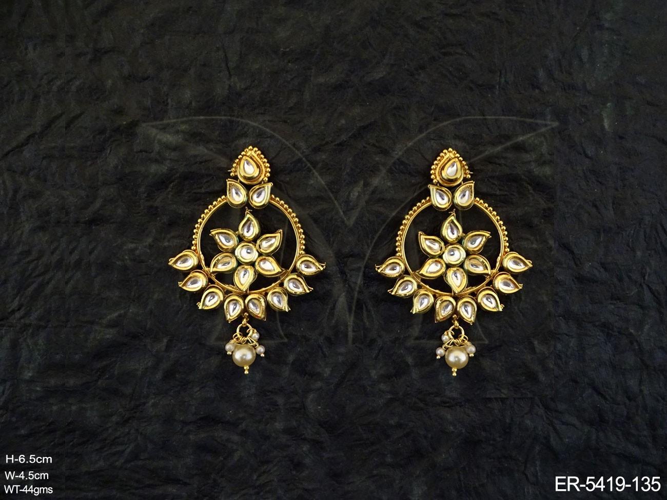 Polki Jewellery Earrings Set